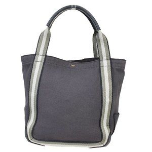 Anya Hindmarch Leather,Canvas Handbag,Tote Bag Gra